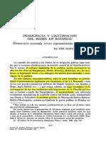 Rubio Carracedo. DemocraciaYLegitimacionDelPoderEnRousseau-26948