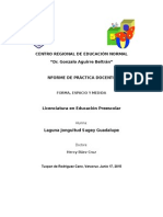 Informe de Práctica Docente 3era Jornada
