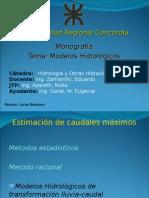Modelos Hidrologicos