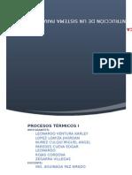 Informe de Procesos Termicos i