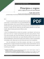 04.1 SILVA, Virgílio Afonso Da. Principios e Regras (1)