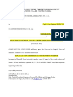 FRAUD ON COURT AND FRAUDULENT LIEN, NOTICE