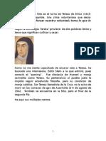 Vinculaciones entre Teresa de Avila y Edith Stein.