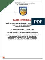 Bases Integrada Consorcio Sistemas