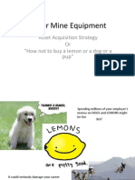 408-2012-Major Mine Equipment Acquisition Lecture