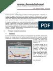 Boletín Economía y Demanda Profesional - Primer Trimestre 2015