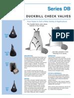 B-Duckbill Check Valve