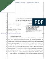 (PC) Hermosillo v. Corporation Correctional of America, et al. - Document No. 1