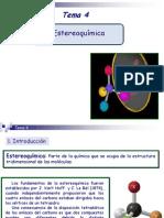 Tema 4. Estereoquímica