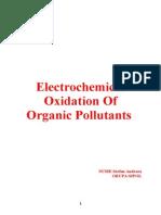 Oxidari Electrochimice Ale Poluantilor Organici