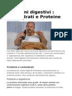 Problemi digestivi