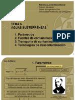 Tema 6 Aguas Subterraneas 2013 Feb 13