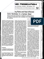 BA GRaville -1973 Cooling Rates and HAZ Hardness in Carbon Steels