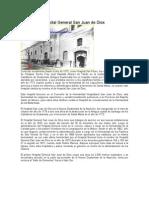Historia Del Hospital General San Juan de Dios