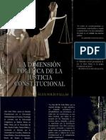 La Dimensión Política de La Justicia Constiucional