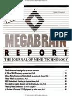 MegaBrain Report Volume 3 Number 3