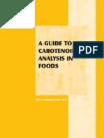 Cromatografia en Columna de Carotenoides