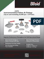 Medium Pressure Instrumentation Valves BFD89
