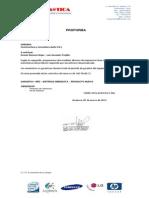 Proforma Printer Láser - PROYECTO