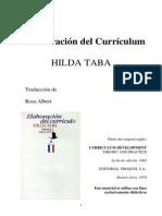 IAP Hilda Taba - Elaboración Del Currículum. EDUCATIVA PRACTICA