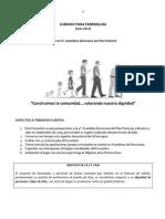 Subsidio - Hacia la 4ª Asamblea Diocesana Del Plan Pastoral.