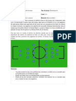 Juegos Modificados - Futbolin Humano