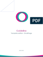 Guideline Template Editor 2015