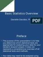 RBC Statistics Overview RBC