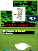 EBF 2054 Capital Budgeting