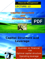EBF 2054 Capital Structure
