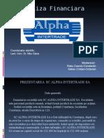 Proiect Finante Manageriale Robu Cosmin + Sabau Cristian.ppt