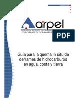156089084 Guia ARPEL Quema in Situ