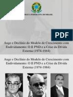 Economia Brasileira - II PND