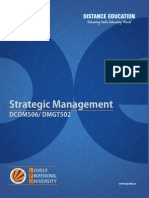 Dcom506 Dmgt502 Strategic Management