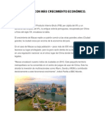 Ciudades Con Más Crecimiento Económico