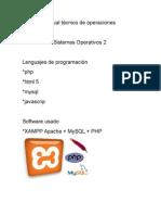 Manual Técnico de Operaciones