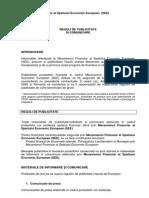 Reguli de Publicitate EEA Grants