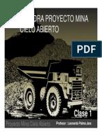 Clase 1 - Catedra Proyecto Rajo