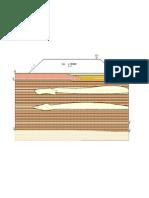 Corte geológico-geotécnico