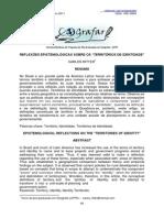 RITTER, Carlos - Reflexões Epistemológicas Sobre Territórios e Identidade