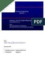 Inginerie Software intro