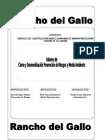 Informe Final Cierre y Desmovilizacion