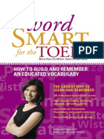 Word Smart for the TOEFL by the Princeton Review