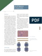 Análisis Técnico Del Ligamento en Los Tejidos Hispanoárabes