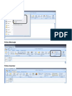 Outlook 2007 Botones
