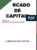 4. Mercados de Capitais e Cambial