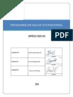 Programa de Salud Ocupacional Licitación WS1412372 SMCV