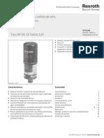 Filtro Aire Adsorbente Agua (RS51456)