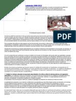 Políticas Educativas de Guatemala 2008