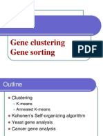 Gene Clustering